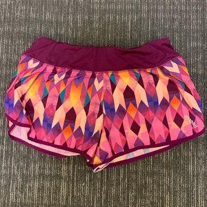 Pink Reebok shorts!